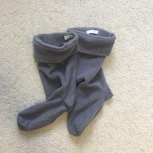 Capelli Microfiber Fleece Rain Boot Liner